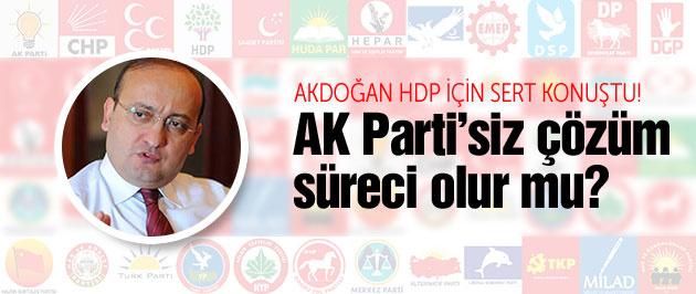 AK Parti olmazsa çözüm süreci sürer mi?