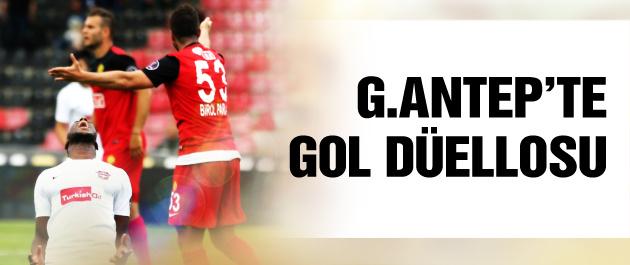 Gol düellosunu Gaziantepspor kazandı
