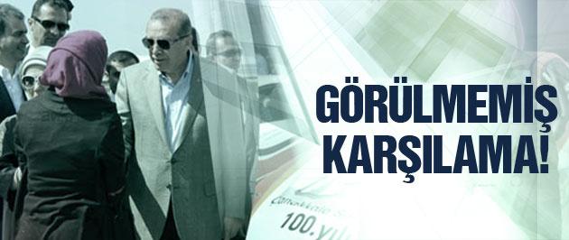 Erdoğan'a Şanlıurfa'da görülmemiş karşılama!