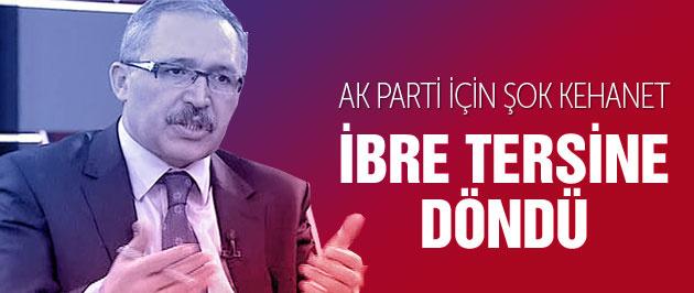 Abdülkadir Selvi'den AK Parti'ye şok uyarı