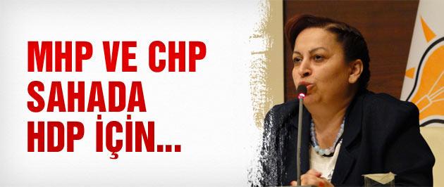 CHP ve MHP sahada HDP için çalışıyor!