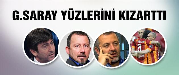 Galatasaray yorumcuların yüzlerini kızarttı