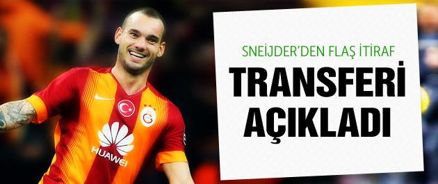 Sneijder G.Saray'ın ilk transferini açıkladı