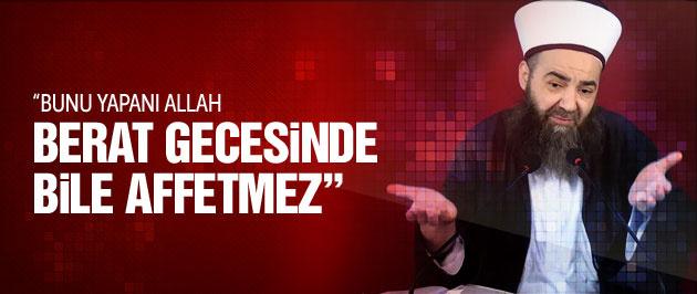 Cübbeli Ahmet Hoca şarkıcılara fena çattı