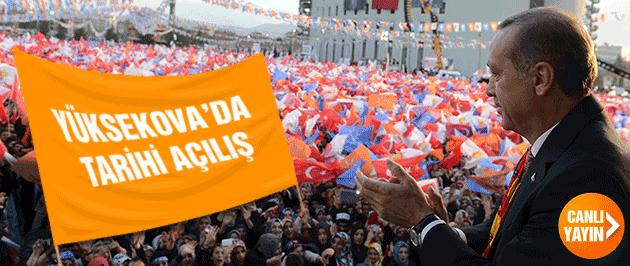 Yüksekova Havalimanı açılıyor Erdoğan indi