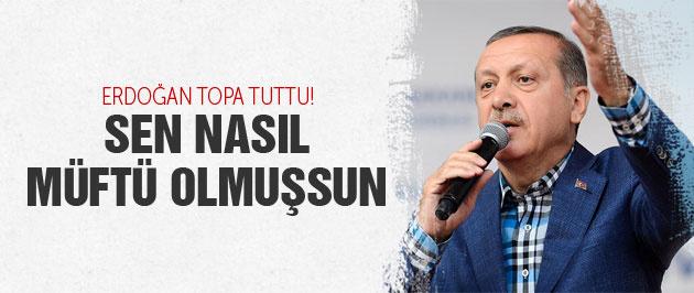 Erdoğan'dan HDP'li müftüye çok sert gönderme