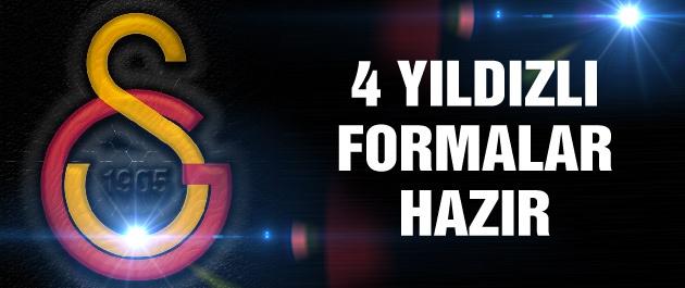 İşte 4 yıldızlı Galatasaray formaları