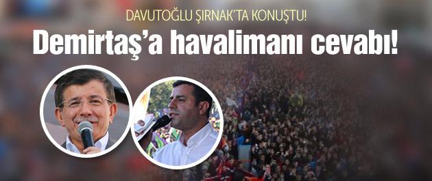 Davutoğlu: AK Parti Nuh'un gemisidir!