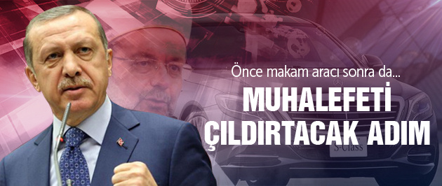 Erdoğan'dan Diyanet'e uçak talebi!