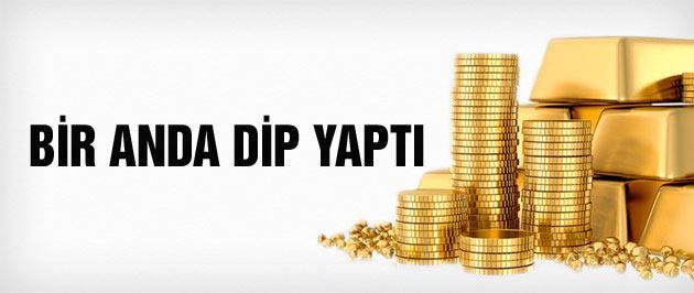 Altın fiyatları dip yaptı dolar kuru son durum
