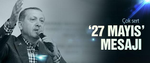 Erdoğan'dan Uşak'ta çok sert 27 Mayıs mesajı