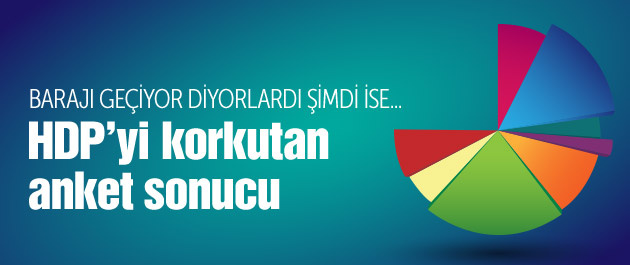 HDP'yi korkutan Metropoll anketi sonuçları