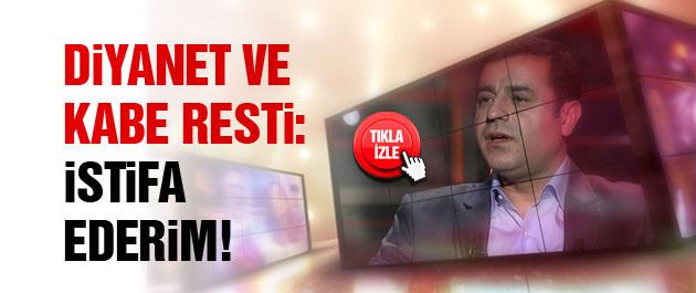Demirtaş'tan Kabe ve Diyanet resti: İstifa ederim!