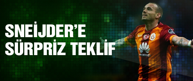 Galatasaray'da flaş Sneijder gelişmesi