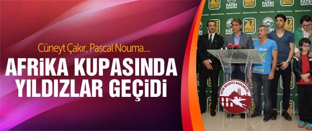 Afrika Kupası'nda Pascal Nouma ve Çakır rüzgarı