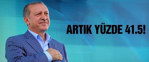 Erdoğan araştırmasında çarpıcı sonuç yüzde 41.5...