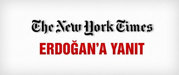 New York Times'ten Erdoğan'a yanıt gibi haber!