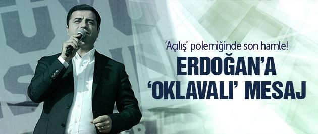 Demirtaş: Erdoğan'ı elinizde oklavayla bekleyin!