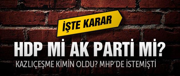 Kazlıçeşme kimin oldu? HDP mi AK Parti mi?