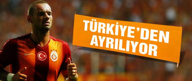 İşte Sneijder'in gümrük beyanı! Ayrılıyor...