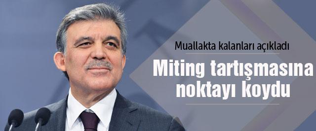 Abdullah Gül'den Demirtaş'a 'oy' cevabı