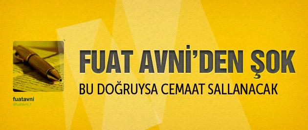 Fuat Avni'den Bank Asya için olay iddia