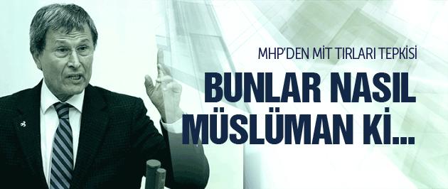 MHP'den çok sert MİT tırları açıklaması!