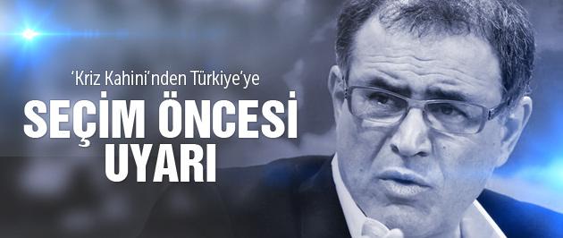 Kriz Kahini'nden seçim öncesi Türkiye'ye uyarı