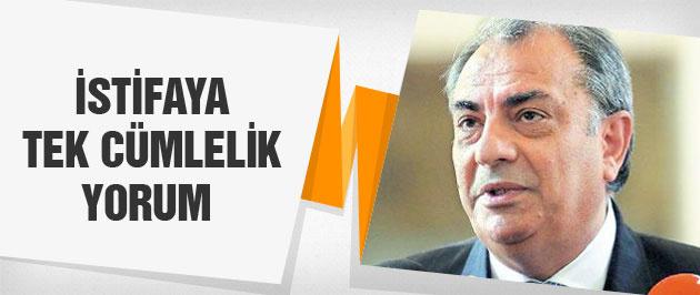 Tuğrul Türkeş'ten kardeşinin istifasına tek cümlelik yorum!