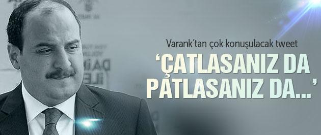 Cumhuriyet'in MİT TIR'ları haberine Varank yorumu