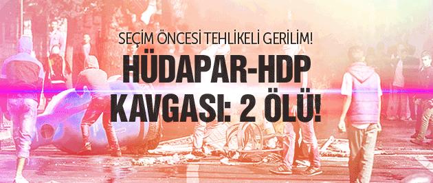 Şırnak'ta Hüda Par-HDP çatışması: 2 ölü!