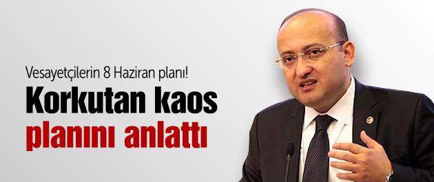 Yalçın Akdoğan kaos planını anlattı!