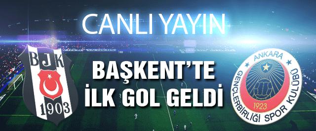 Beşiktaş Gençlerbirliği maçı (CANLI YAYIN)