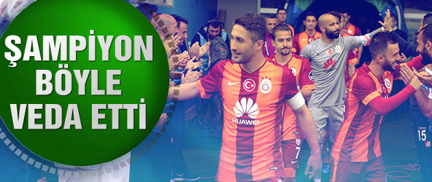 Galatasaray sezonu 77 puanla zirvede bitirdi