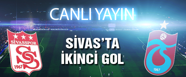 Sivasspor Trabzonspor maçı (Canlı yayını)