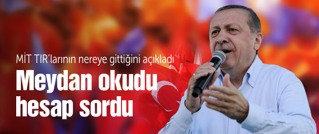 Cumhurbaşkanı Erdoğan Yenikapı'da