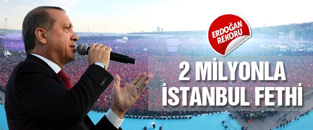 İstanbul'da dev Fetih Şöleni