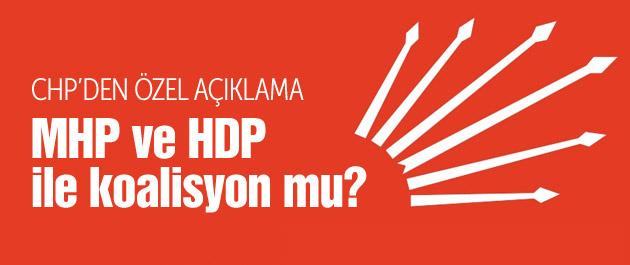 CHP'nin koalisyon planı HDP mi MHP mi?