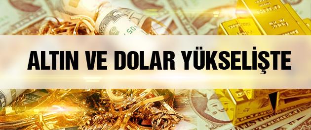 Dolar kuru ve altın fiyatları bugün yükselişte