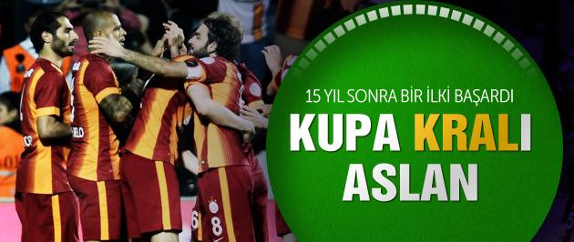 Türkiye Kupası'nı Galatasaray kazandı