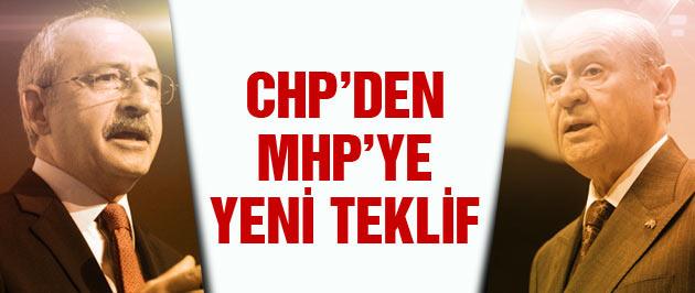 CHP'den MHP'ye koalisyon için ikinci hamle!