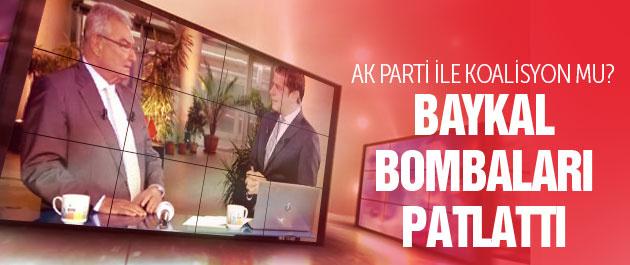 Baykal'dan AK Parti'yle koalisyon sinyali!