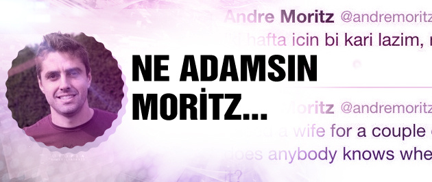 Andre Moritz'den güldüren tweet