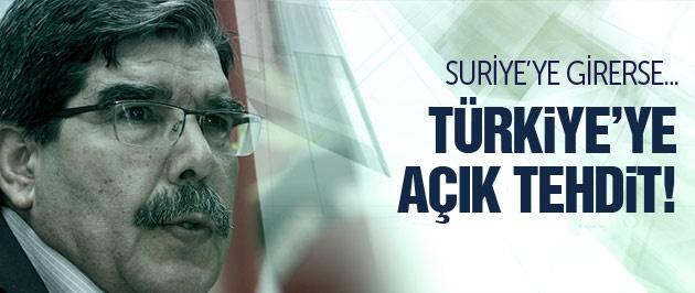 Salih Müslim'den Türkiye'ye açık tehdit! Girerse...