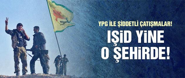 IŞİD son dakika yeniden Tel Abyad'a girdi!