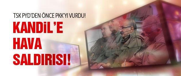 'TSK'dan son dakika PKK bombardımanı' iddiası