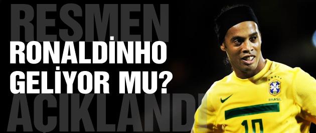 Antalyaspor Ronaldinho'yu açıkladı