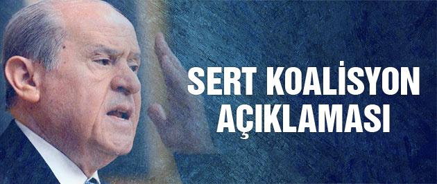 Bahçeli'den koalisyon açıklaması Kılıçdaroğlu'na sert sözler