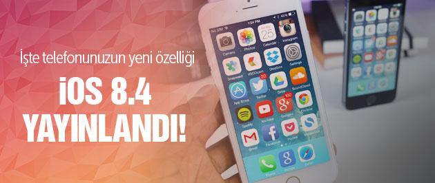 iPhone'nun yeni güncellemesi iOS 8.4 nasıl yüklenir