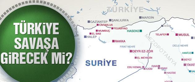 Türkiye Suriye'de savaşa girecek mi büyük tehdit!
